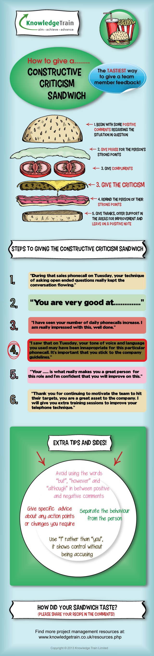 how-to-give-a-constructive-criticism-sandwich-infographic