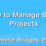 How To Manage Small Projects